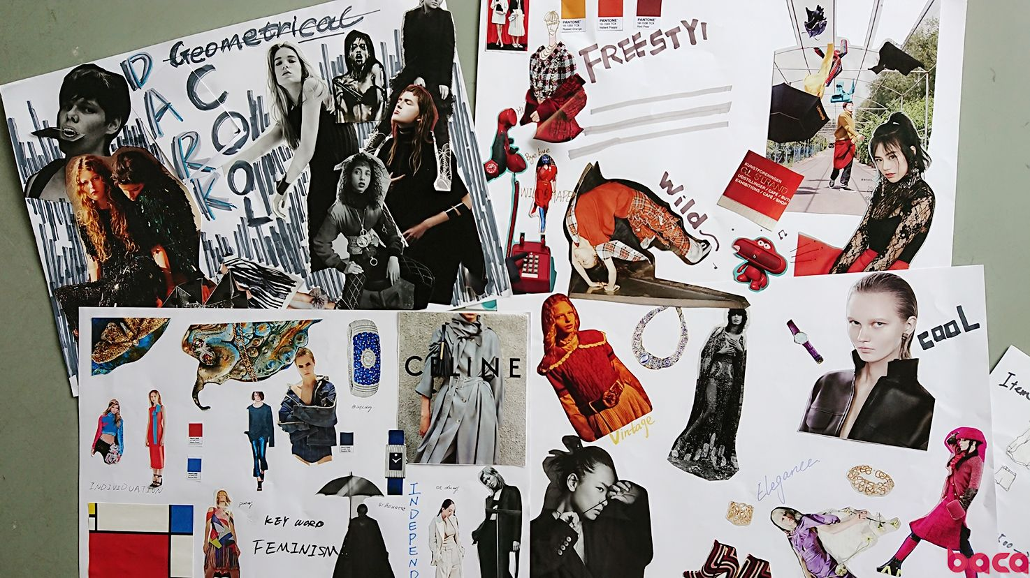 时尚买手趋势板制作 什么是trendboard BACA时尚买手体验