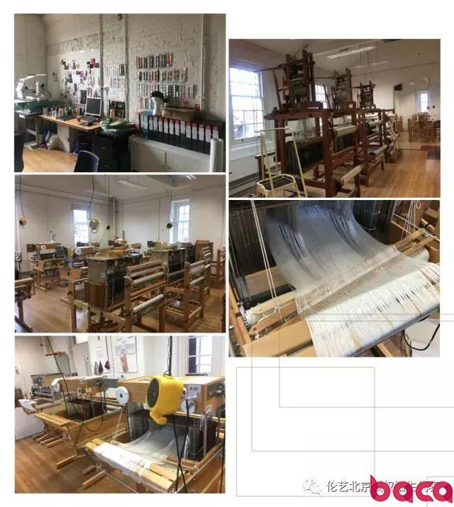 纺织工作坊 伦敦艺术大学纺织品设计 面料与服装设计 伦敦切尔西学院