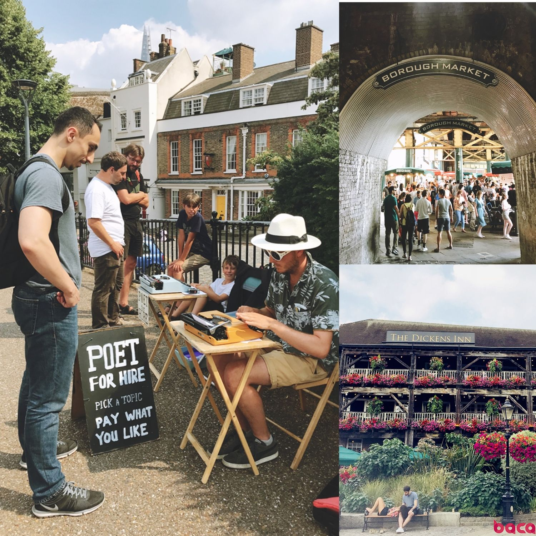 Borough Market 伦敦必逛市集 伦敦短期游学