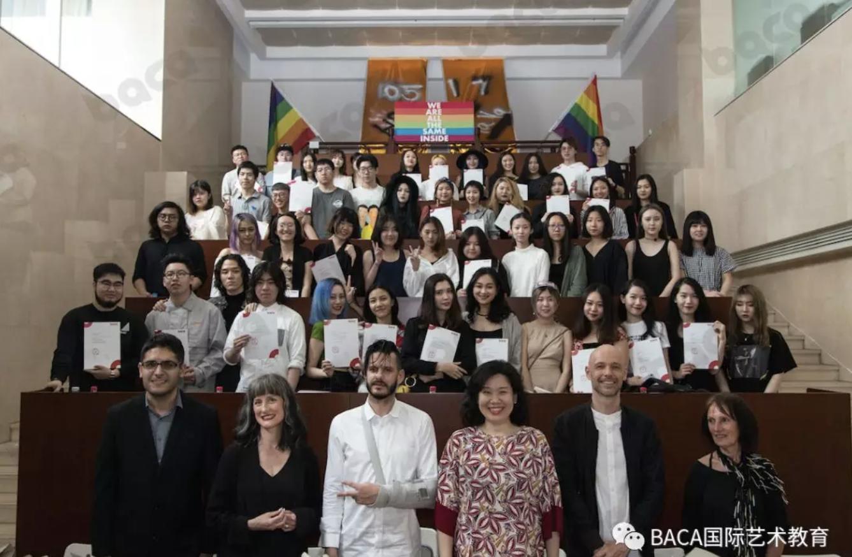 2018毕业生合照BACA