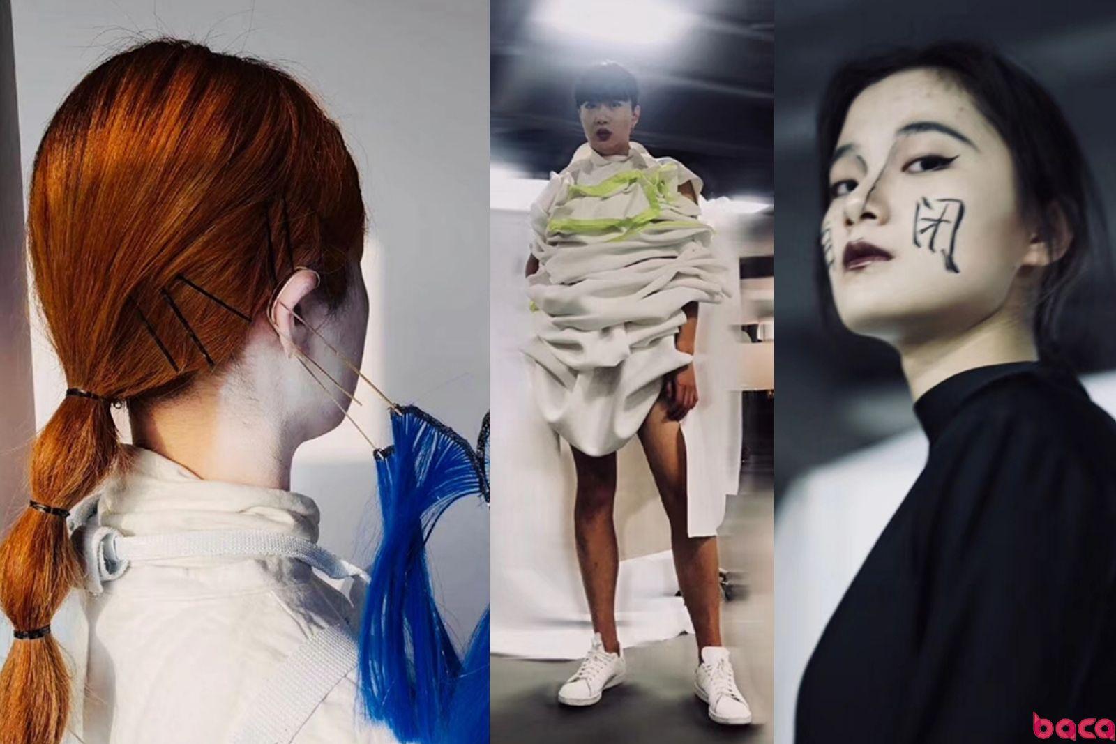 BACA艺术设计预科POP-UP SHOW快闪时装秀 | BACA进化论