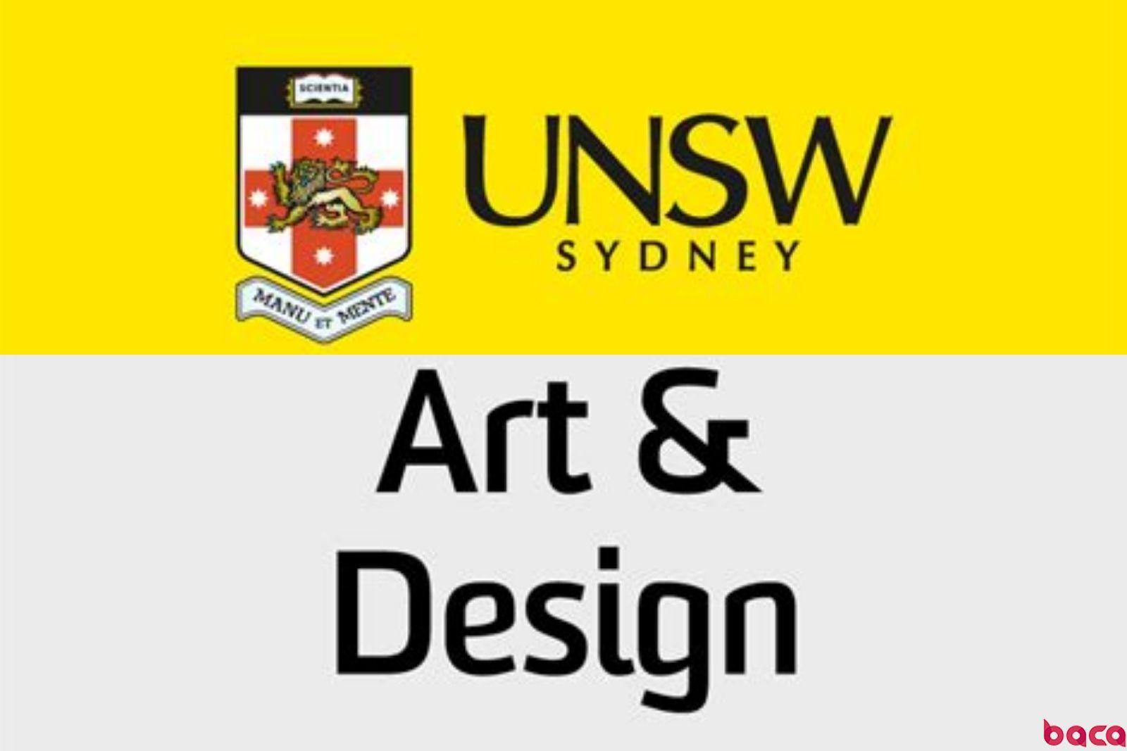 去澳洲学艺术设计?新南威尔士大学了解一下 | BACA资讯