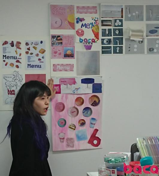学生演讲讲解作品 BACA国际艺术学校