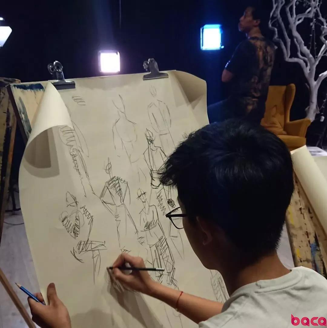 北京艺考画室素描课 艺术留学作品集培训