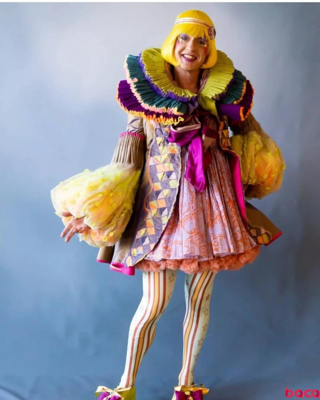 跨性别LGBT 伦敦时装学院表演服装设计