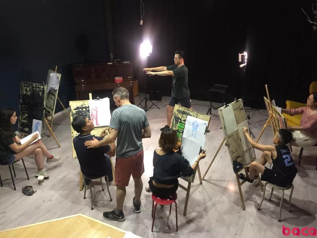 北京画室人体写生晚间培训