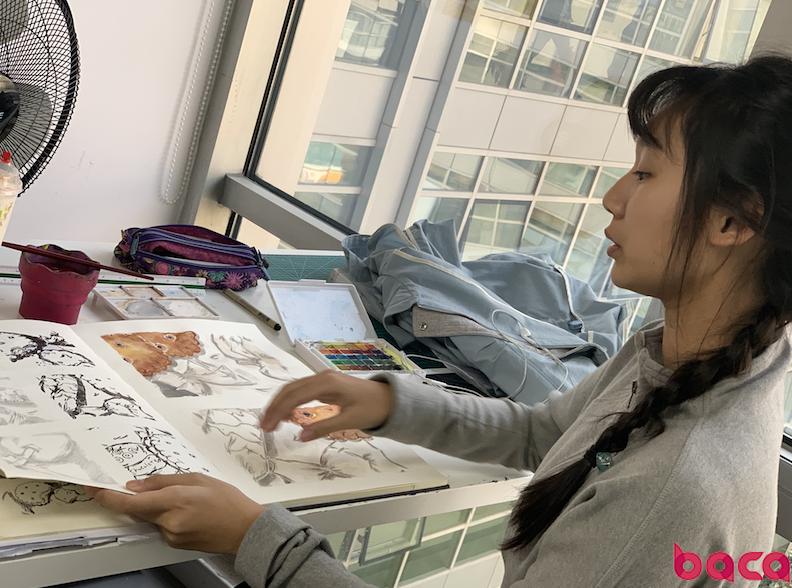 艺术不分年龄, LEVEL2学生作品让你惊讶 BACA新生采访
