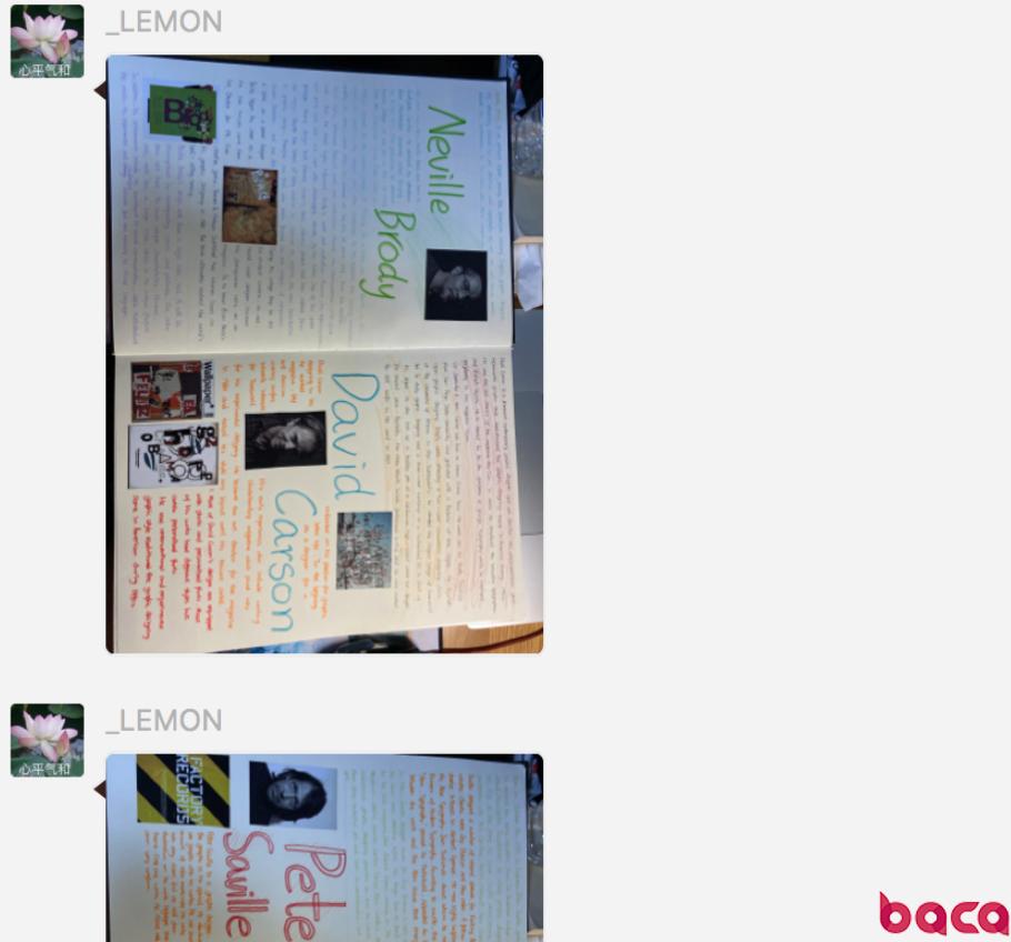 BACA外教团队督导学生学习